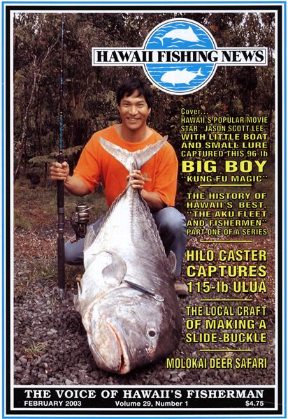 Jason Scott Lee & 96-lb. Ulua